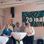 Viering 20 jarig bestaan v/d VZW LOBOS receptie 25-04-04