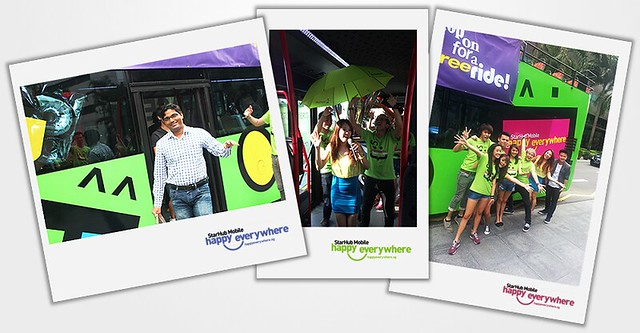 Starhub's Happy Bus!