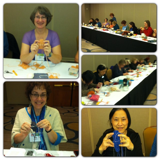 """Kitchener like a pro"" class at Stitches West"