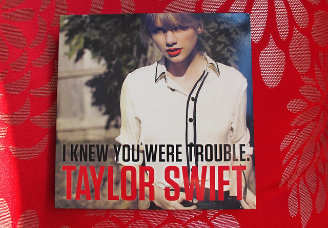Taylor Swift / I Knew You Were Trouble (limited edition CD single)