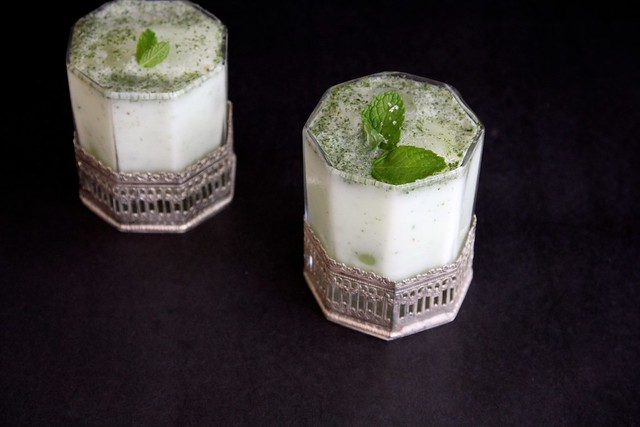 salted mint lassi