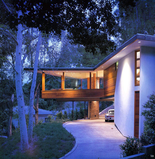 1953 ... The Tyler House: John Lautner