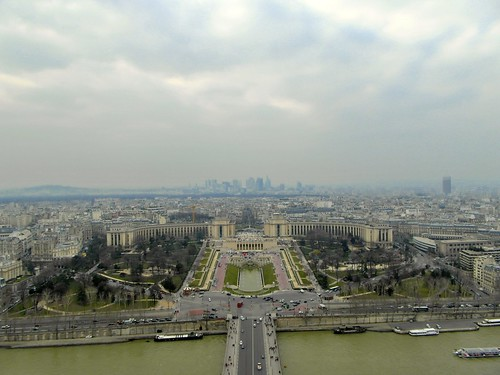 View of Paris from Tour Eiffel