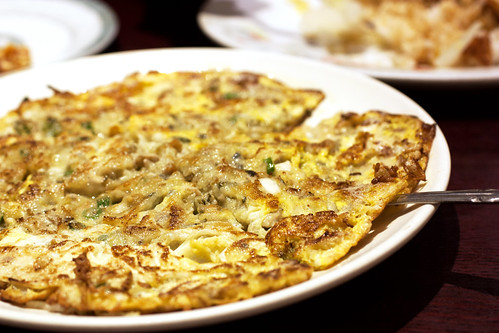 oyster pancake @ lucky plaza