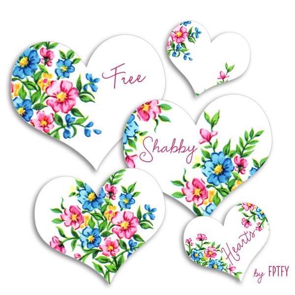 Free_Shabby_Vintage_Hearts_ By FPTFY web ex