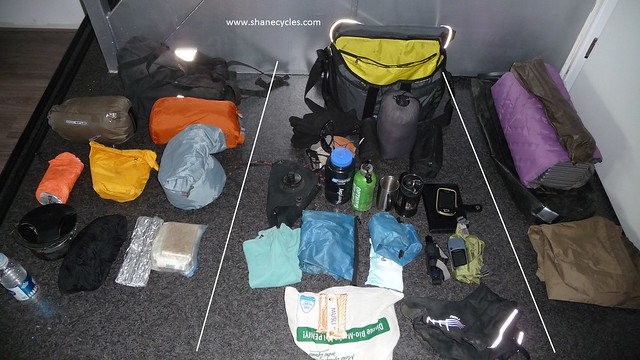 Packing for Brompton cycle touring