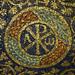 Mosaic Chi Rho close, The Mausoleum of Galla Placidia by profzucker