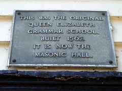 Photo of Grey plaque number 2112