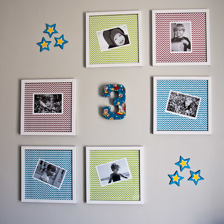 3rd Birthday Wall-14