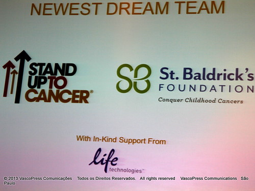 Stand Up To Cancer and the St. Baldrick's Foundation Announce New Pediatric Cancer Dream Team at the American Association for Cancer Research Annual Meeting 2013 –  IMG_0719