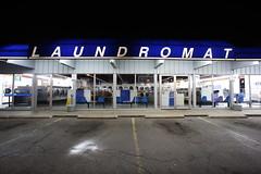 blue laundromat