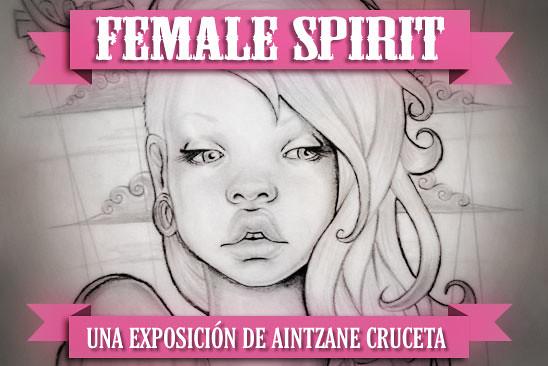 Female Spirit por Aintzane Cruceta