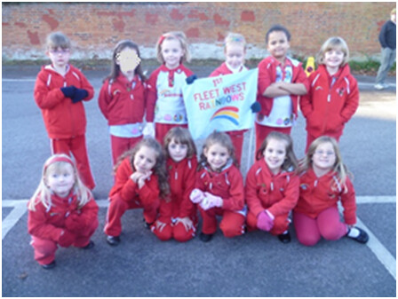 Rainbows looking smart for the Remembrance Parade
