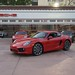 NEW 2014 Porsche Cayman S 981 FIRST PICS in Beverly Hills 90210 Guards Red 1203