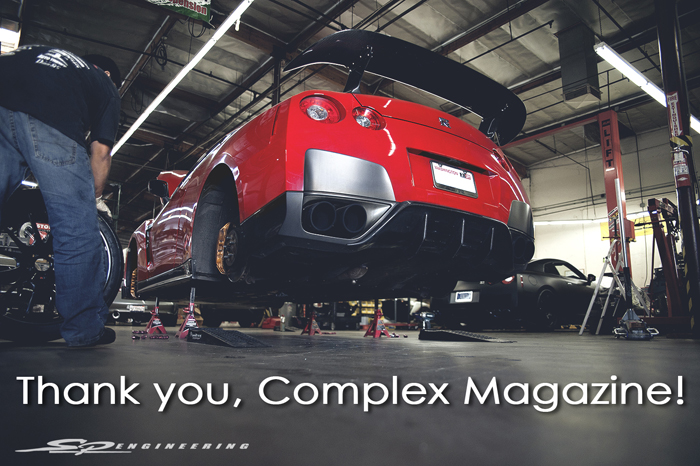 Complex Magazine Deems SP Engineering the #1 Best Import Tuner Shop in America