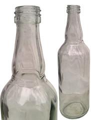 chai thủy tinh cổ phình