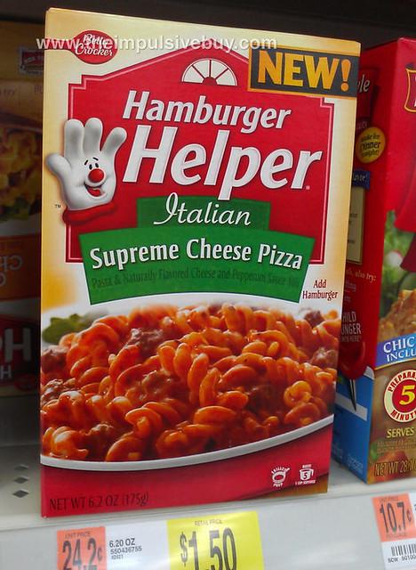 Hamburger Helper Supreme Cheese Pizza | Explore theimpulsive ...