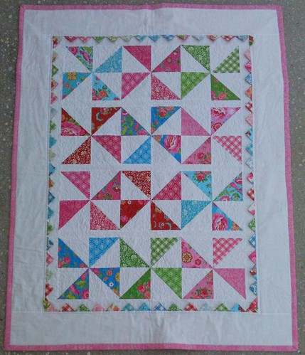 Finished Gypsy Girl Quilt