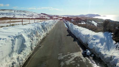 snow peel isleofman snowscene iom cronkyvoddy busvannin