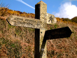 Coast Path Sign | by Barrie Foster1