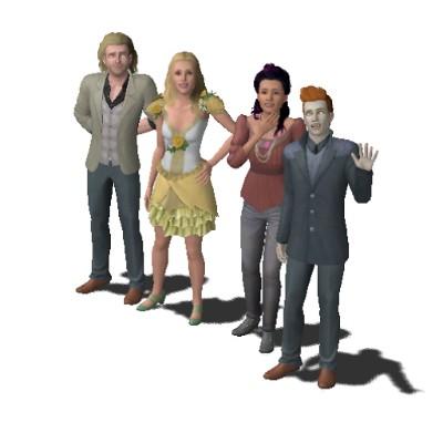De Sims 3 Bovennatuurlijk huishouden