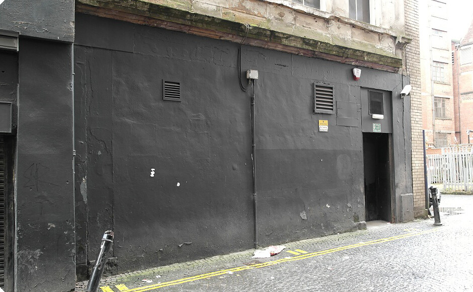 black cab street art Glasgow