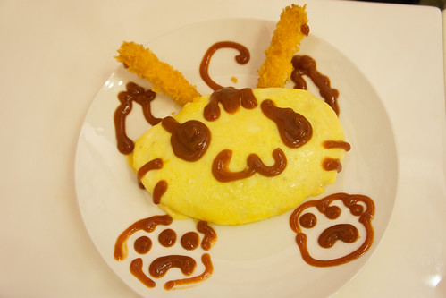 然後是星野喵的魔改兔子貓貓蛋包飯