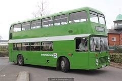trolleybus(0.0), flxible new look bus(0.0), vehicle(1.0), transport(1.0), mode of transport(1.0), public transport(1.0), double-decker bus(1.0), tour bus service(1.0), land vehicle(1.0), bus(1.0),