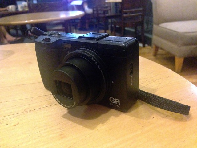 My new Ricoh GRD IV, bought yesterday at a close out price of ony USD $322, now that the new GR has been launched. It's a steal at that price, for what is still a very good small sensor camera.