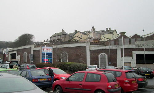 Former Whitehaven Bus Station left
