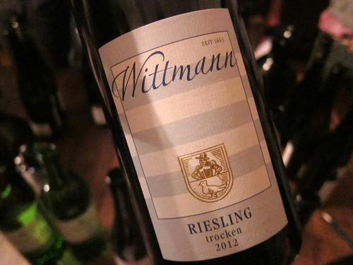 2012 Wittmann Riesling