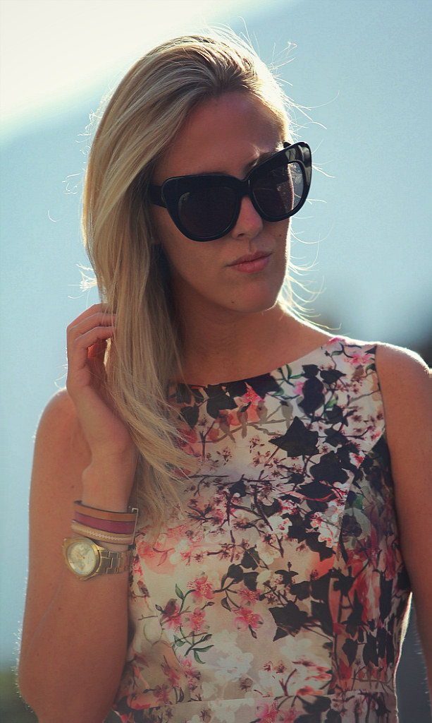 STYLE LOVER FLORAL DRESS III