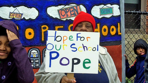 Pope School Press Conference
