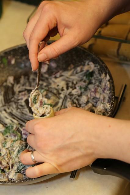 Mushroom & Spinach Pasta