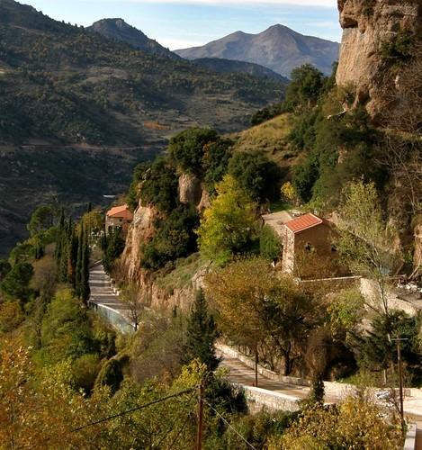 landscape greece peloponnese ελλάδα τοπίο πελοπόννησοσ μέγασπήλαιο