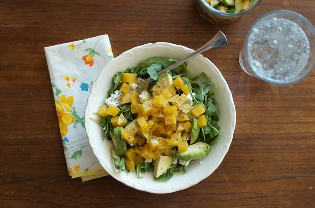 overhead salad