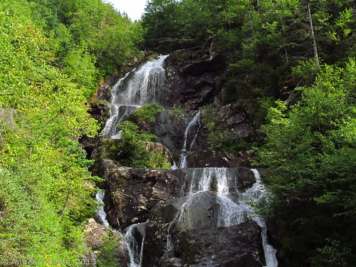The upper part of the falls in The Gorge, Ammonoosuc Ravine, White Mountain National Forest, New Hampshire