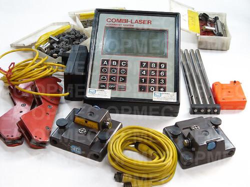 Sistema de Alinhamentos Fixtur-Laser modelo COMBI-LASER