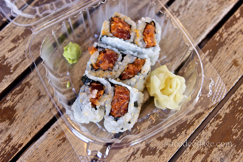 Spicy Tuna Roll at Fukuda Truck