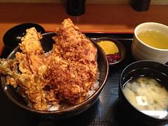 Spring tempura bowl / Isomiya