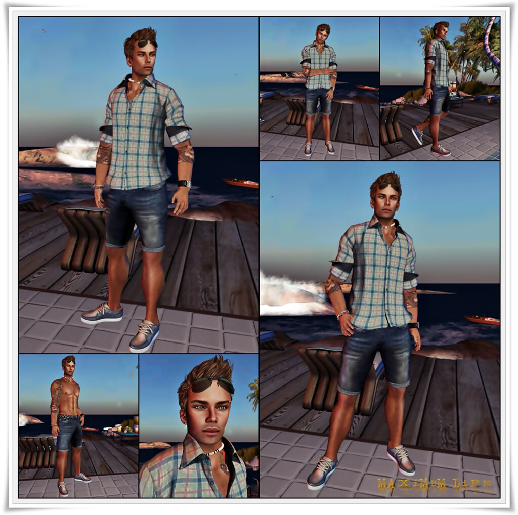 HAIR:REDGRAVE - Hairstyle CHRIS - Brown - [Last Release] title=