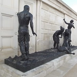 National Memorial Arboretum - Armed Forces Memorial - bronze sculptures