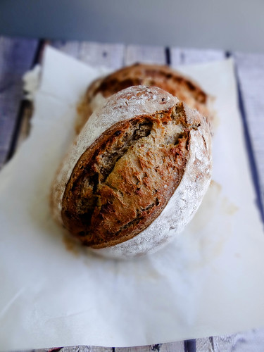 sourdough date bread