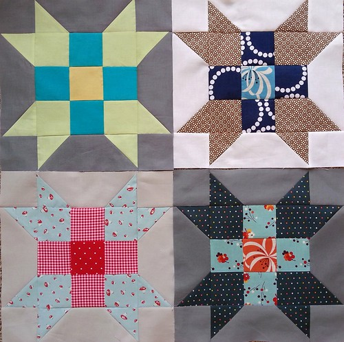 Sew Pieceful {May} Blocks Hive #2