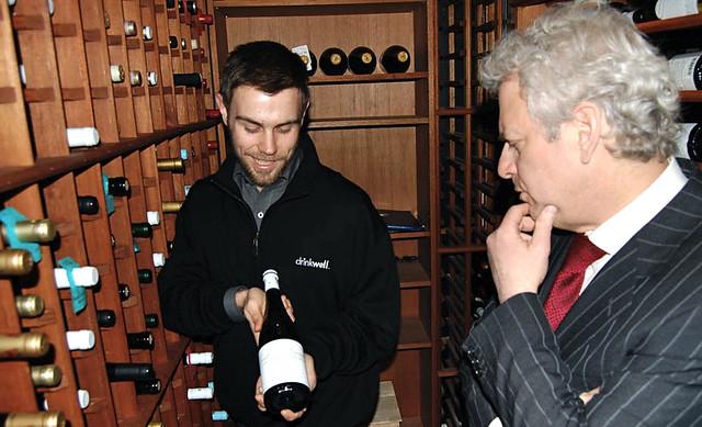Sandy Block evaluates one of sommelier Austin Ward's favorites.