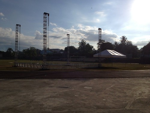 2 mile run at CPG Sports Complex Tagbilaran Bohol