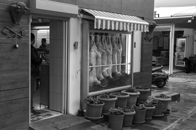 Turkish Butcher - Bodrum, Turkey