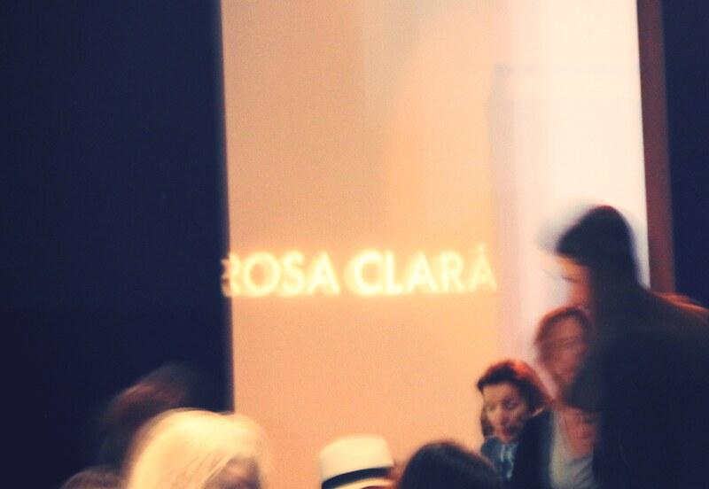 Desfile Rosa Clará colección 2014 - Monicositas