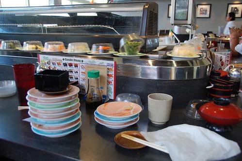 Sushi in Portland at Sushi Land