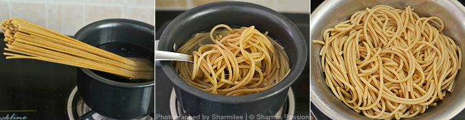 Spaghetti Stir Fry Recipe - Step1